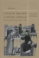 Church Reform and Social Change in Eleventh-Century Italy