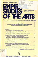 Empirical Studies of the Arts
