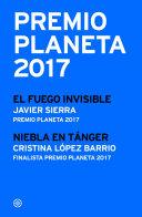 Premio Planeta 2017: ganador y finalista (pack)