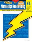 Traditional Manuscript Handwriting