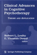 Clinical Advances in Cognitive Psychotherapy Book