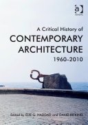 A Critical History of Contemporary Architecture