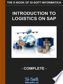 Introduction to Logistics on SAP - complete