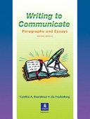 Writing to Communicate