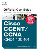 CCENT CCNA ICND1 100 101 Official Cert Guide