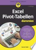 Öffnen Sie das Medium Excel Pivot-Tabellen für Dummies von Weiß, Martin im Bibliothekskatalog