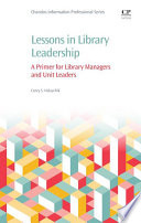 Lessons In Library Leadership Book PDF