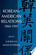 Korean American Relations