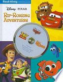 3-in-1 Read-Along Storybook and CD: Disney•Pixar Rip-Roaring Adventures