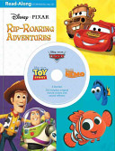3 in 1 Read Along Storybook and CD  Disney   Pixar Rip Roaring Adventures
