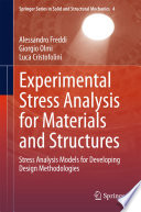 Experimental Stress Analysis for Materials and Structures Book