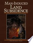 Man induced Land Subsidence