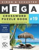 Simon   Schuster Mega Crossword Puzzle Book  19