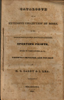 Catalogue of an Extensive Collection of Books  in the English  French  Spanish  and Italian Languages