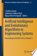 Artificial Intelligence And Evolutionary Algorithms In Engineering Systems Book PDF