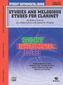 Student Instrumental Course: Studies and Melodious Etudes for Clarinet, Level 2