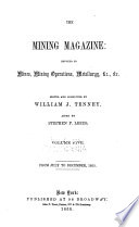The Mining Magazine and Journal of Geology, Mineralogy, Metallurgy, Chemistry and the Arts