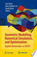 Geometric Modelling, Numerical Simulation, and Optimization:  : Applied Mathematics at SINTEF