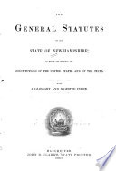 The General Statutes of the State of New Hampshire Book PDF