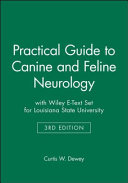 Practical Guide to Canine and Feline Neurology 3e with Wiley E-Text Set for Louisiana State University