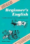 Beginner's English Reader