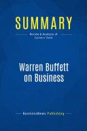 Summary: Warren Buffett on Business [Pdf/ePub] eBook