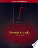 Cover of Student Solutions Manual for Stewart's Essential Calculus, 2nd