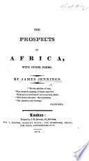 The Prospects of Africa, with Other Poems