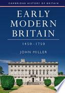 Early Modern Britain  1450 1750