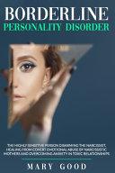 Borderline Personality Disorder Book