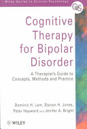 Cognitive Therapy for Bipolar Disorder