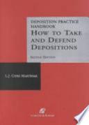 Deposition Practice Handbook