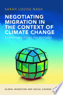 Negotiating Migration in the Context of Climate Change