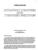 Aviation Weather and Weather Services Book