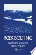 Rock bolting  Theory and application in mining and underground construction Book