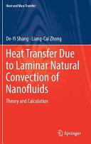 Heat Transfer Due to Laminar Natural Convection of Nanofluids