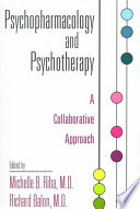 Psychopharmacology and Psychotherapy Book