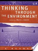 Thinking Through The Environment Book PDF
