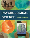 Cover of Psychological Science