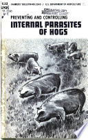 Preventing and Controlling Internal Parasites of Hogs