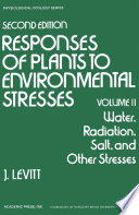 Water  Radiation  Salt  and Other Stresses Book