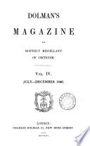Dolman's magazine [ed. by M.G. Keon and E. Price].