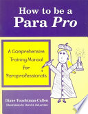 How to be a Para Pro