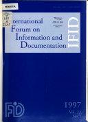 International Forum On Information And Documentation