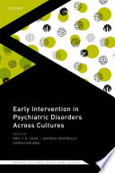 Early Intervention in Psychiatric Disorders Across Cultures
