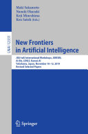 Pdf New Frontiers in Artificial Intelligence Telecharger