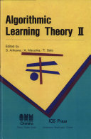 Algorithmic Learning Theory II