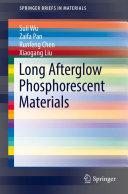 Pdf Long Afterglow Phosphorescent Materials Telecharger