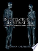 Investigations in Sex Estimation Book