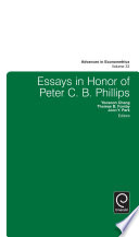 Essays in Honor of Peter C  B  Phillips